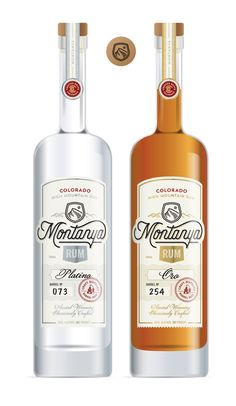 Montanya Rum Labels by Jared Jacob