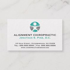 Standard Chiropractic Logo Appointment Cards Check out this business card. You can't find this design at your local printer. Premium Business Cards, Salon Business Cards, Artist Business Cards, Unique Business Cards, Professional Business Cards, Business Card Design, Chiropractic Logo, Chiropractic Therapy, Standard Business Card Size