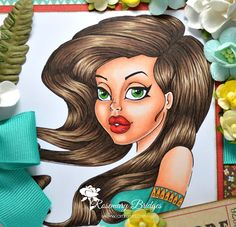 Make it Crafty Store – Portrait Coloring using Michelle.    Copics: Skin: E000, E00, E01, E02, E11, E13 Hair: E44, E47, E49 Eyes: G14, G28 Lips: R24, R27, R29, R89 Shirt: BG13, BG15, BG18, YR21, YR24, YR27