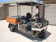 Cushman Truckster utility vehicle #Cushman