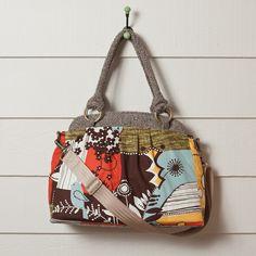 Tweet Tweed  Lovely camera bag from Ketti Handbags.