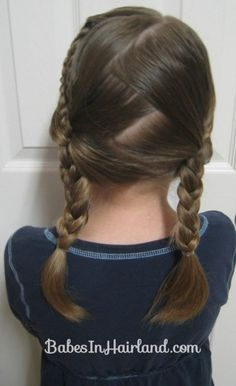 Double Braids into Pocahontas Braids (3)