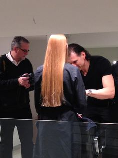 #mariomakemeamodel Semi-Finalist Ashley about to get her Mario Tricoci makeover!