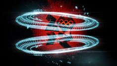 london 2012 olympic velodrome animation by chemical brothers + crystal CG