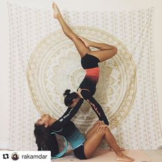 Join us for #AcroBabez  Or dudes or kids... lol have fun with a combo of partner and acro yoga poses. .  February 12-25 All levels  modifications are welcome  Hosted by: @Phyllicia.Victoria @Yoginspired22 @Rakamdar  Generous Sponsors: @earthlightapparel @aterrayoga @shyfit @mymalanecklace @kdwapparel ______________________________ To enter and be eligible for prizes: 1. Repost flyer  2. Use hashtag #Acrobabez 3. Follow and Tag hosts  sponsors when you post AND page must be public so we can…