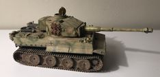 1/87 HO Roco minitanks tiger I of the 505 heavy panzer battalion. Battle of Kursk