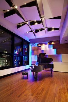 Jungle City Studios, Live Room, New York City (Design by WSDG)