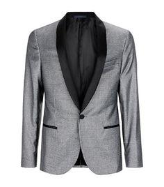 Lanvin Metallic Houndstooth Jacket