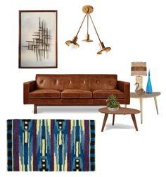 """Senza titolo #6583"" by waikiki24 on Polyvore featuring interior, interiors, interior design, Casa, home decor, interior decorating, Gus* Modern e Blenko"