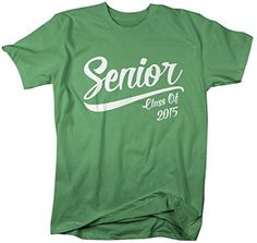 mens senior class 2015 t shirt graduation - High School T Shirt Design Ideas