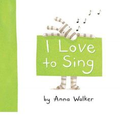 I Love to Sing (I Love Ollie): Ollie loves to sing. He loves to sing in his bed or in the park. He loves to sing with his dog, Fred. In this sweet, engaging picture book, Ollie celebrates singing, friendship and fun. Anna Walker, Singing In The Rain, Children's Picture Books, Reading Workshop, What To Read, Read Aloud, Make Me Happy, Girl Gifts, Teaching Kids