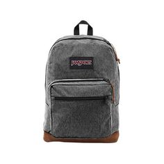 Jansport Right Pack Digital Edition Backpack ($30) ❤ liked on Polyvore featuring bags, backpacks, grey, zipper bag, gray backpack, utility bag, jansport and jansport daypack