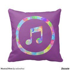 Musical Note Cushion