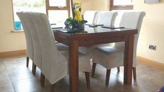 Don't replace your old chairs, ChairFX them! Beautiful dining chairs covers at affordable prices, starting at €10. Flat rate shipping €10 UK and Ireland.