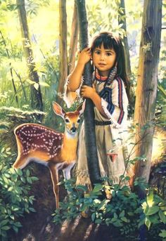 Karen Noles : Woodland Encounter.