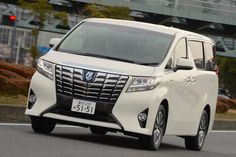 Toyota Alphard Japan March 2015. Picture courtesy response.jp