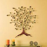 Boxwood Foliage Metal Wall Sculture on Wayfair.com ~ $94.99