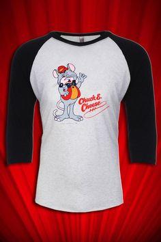 Chuck E. Cheese Vintage Pizza mascot Tee T-shirt Jersey FREE S&H   eBay