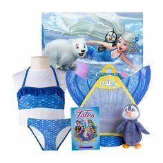 The Deluxe Mermaiden Princess Bundles from Fin Fun Mermaid makes the perfect gift this Christmas. Bundle comes with tail, monofin, backpack, plush FinFriend, Mermaid tales and poster. Make waves this season with the perfect gift for your little (or big) mermaid!