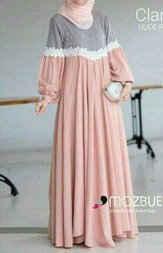 Muslim Women Fashion, Islamic Fashion, Modest Fashion Hijab, Abaya Fashion, Mode Abaya, Mode Hijab, Modest Dresses, Stylish Dresses, Moslem Fashion
