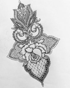 // I absolutely love this Back Tattoos, Great Tattoos, Future Tattoos, New Tattoos, Small Tattoos, Tatoos, Mandala Rosa, Henna Mandala, Pokemon Tattoo