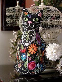 Vintage Crewel Embroidery, Freeform Crewel Embroidery Kits