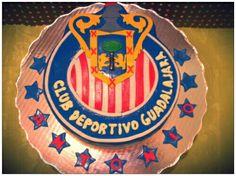 Pastel Logo de las Chivas