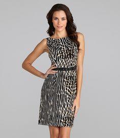 Vince Camuto Printed Sheath Dress | Dillards.com $128