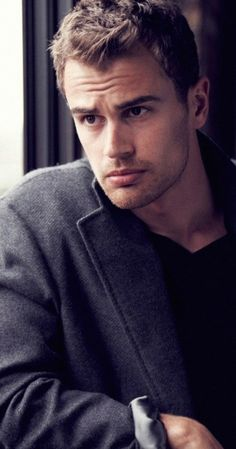 What's next for the rather handsome Theo James? #men #fashion #celebrity