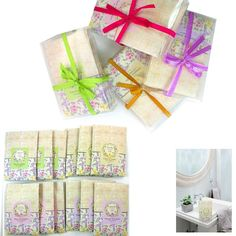 12 Scented Fragrance Home Wardrobe Drawer Car Perfume Sachet Envelope Bag Pouch