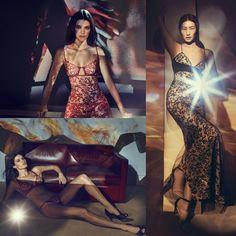 #KendallJenner, #IsabeliFontana and #LiuWen for #LaPerla's latest lingerie campaign! • • • • • • • • • • • • • • • • • • • • • • • • • • • • • • #KendallJenner, #IsabeliFontana e #LiuWen para campanha de lingerie mais recente da #LaPerla! Lacree!!
