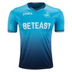 Swansea City 16/17 Away Soccer Jersey -  Premier League 2016/17 Jerseys at WorldSoccershop.com