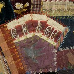 Saedia Smith Johnson  -  Crazy Patchwork Portiere   1887 - 1890