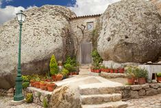 """The """"Most Portuguese Town in Portugal"""" is Built Around, and On Top of Giant Boulders! 