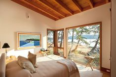 Cabin-Style Refuge Mirroring a Perfect Landscape: Saturna Island Retreat - http://freshome.com/cabin-style-refuge-mirroring-a-perfect-landscape-saturna-island-retreat/