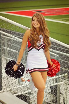 New sport photography cheerleading team pictures ideas, Cheerleading Outfits, Cheerleading Senior Pictures, Senior Cheerleader, Cheer Team Pictures, Football Cheerleaders, Senior Pics, Cheerleading Stunting, Senior Year, Dance Team Pictures