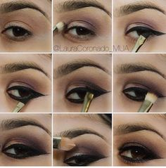 Step by step eye