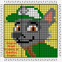 "Search Results for ""Paw Patrol"" – GataRoo Graphs Paw Patrol Rocky, C2c Crochet Blanket, Graph Crochet, Pixel Crochet, Crochet Pattern, Animal Knitting Patterns, Knitting Charts, Baby Knitting, Plastic Canvas Crafts"