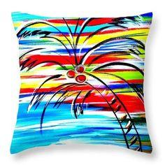 """Pillow """"New Palm"""""""