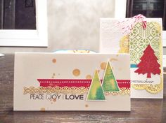 Gold Christmas by Tiffany Heilman at @studio_calico