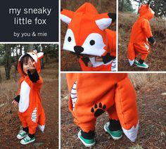 Toddler fox costumr
