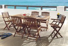 33 meilleures images du tableau Jardin mobilier | Wooden table ...