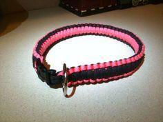 Paracord dog collar  solomon bar / cobra weave  Instructables.com  author- davgos