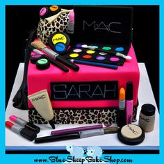 MAC Makeup Sweet 16 Cake