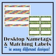 Image result for desk name tags