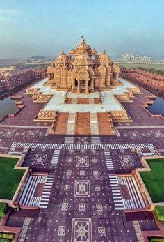 Akshardham Temple, New Delhi, India.