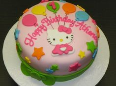 Hello Kitty Model Kue Ulang Tahun Anak Perempuan Terbaru Berbagai Kue