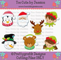 cutting files, cutting pattern, WPC, SVG, GSD, MTC, SCAL, SILHOUETTE, PDF, JPEG, DXF, Too Cute by Jessica, paper piecing, pazzles