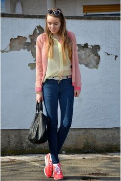 Like ice in the sunshine! - Spring/Summer street style