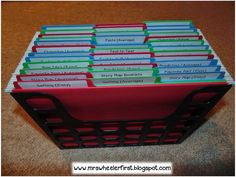 Organized Graphic Organizers {Differentiated}